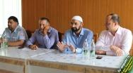 """Сегодня на базе футбольного клуба """"Ангушт"""" состоялось мероприятие, посвященное против Терроризма и Наркомании."""